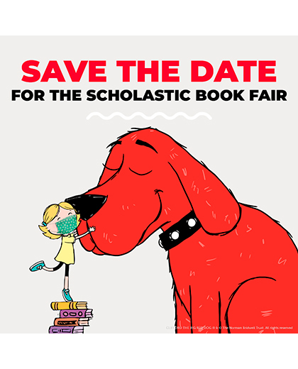 Save the Date for our Book Fair!
