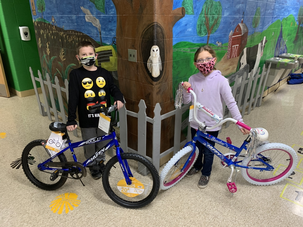 Bike winners!