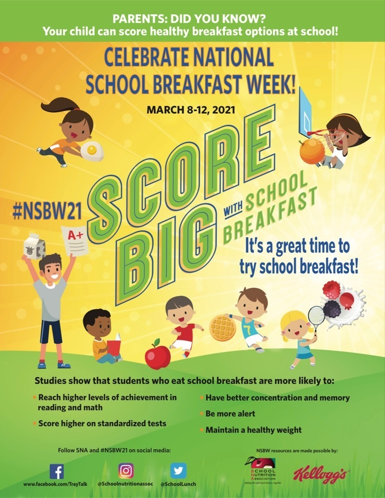 Score Big with School Breakfast