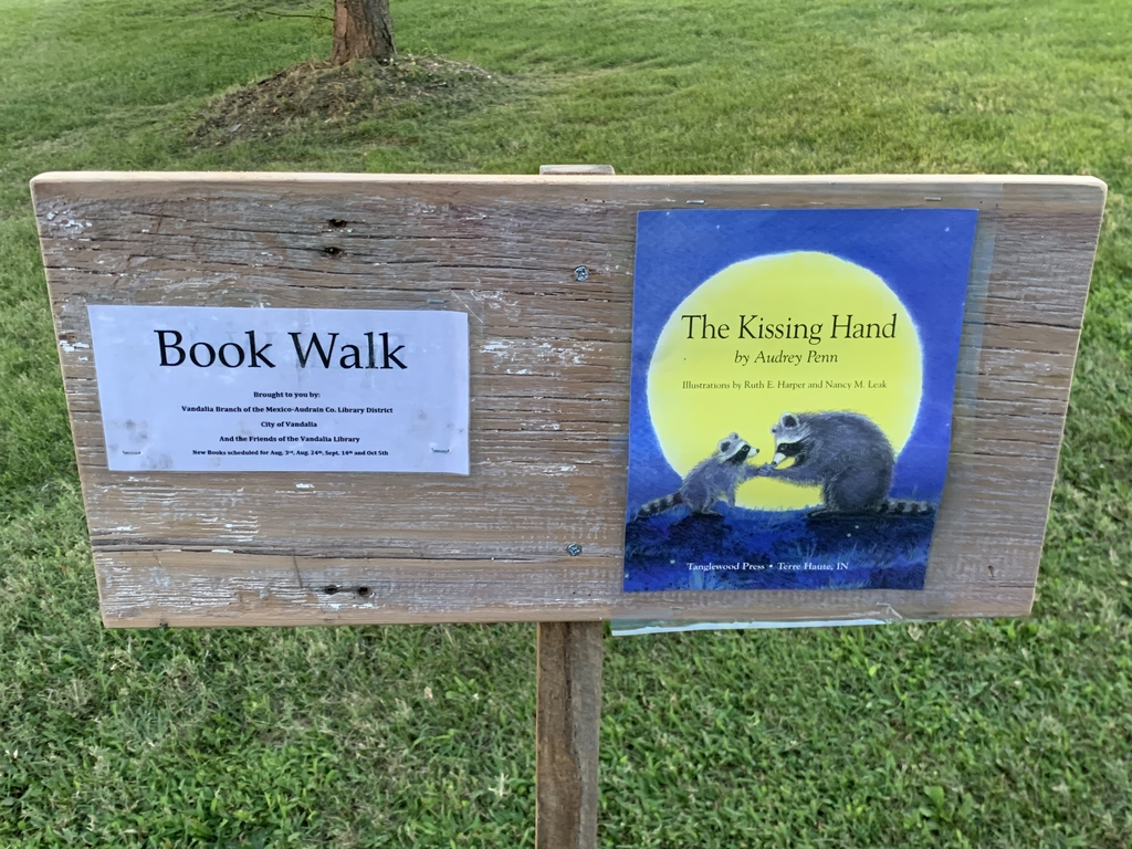The Kissing Hand Book Walk.