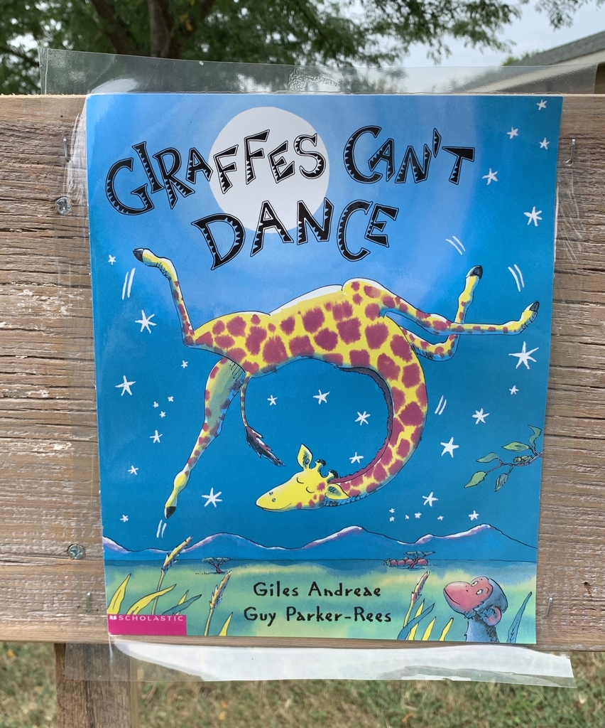 Book Walk Giraffes Can't Dance.