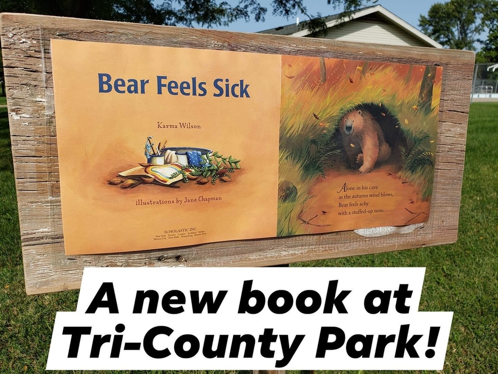 Book Walk at Tri-County Park.
